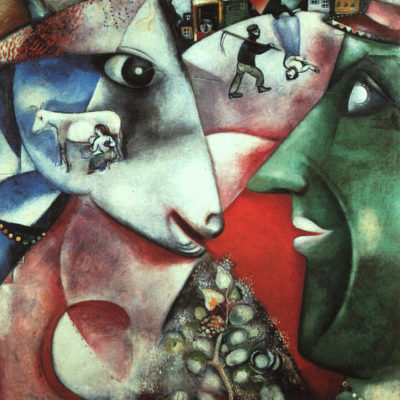 I and the Village made by Marc Chagall