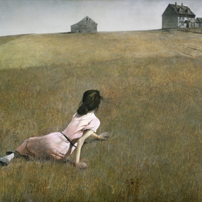 Christina's World produced by Andrew Wyeth