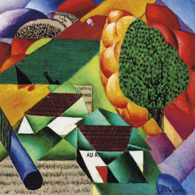 The Landscape crafted by Jean Metzinger